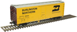 Atlas Trainman HO 20006143  40' Plug Door Box Car Burlington Northern RBWX #60381