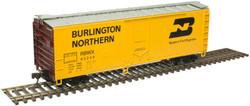 Atlas Trainman HO 20006144  40' Plug Door Box Car Burlington Northern RBWX #60422