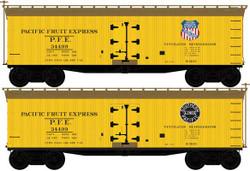 Atlas Master N 50005504 40' Wood Reefer Pacific Fruit Express PFE #35195