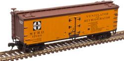 Atlas Master N 50005506 40' Wood Reefer ATSF 'Santa Fe' SFRD #17644