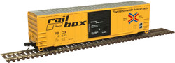 Atlas Master N 50005591 FMC 5077 Single Door Boxcar Railbox 'Next Load - Any Road' RBOX #17721