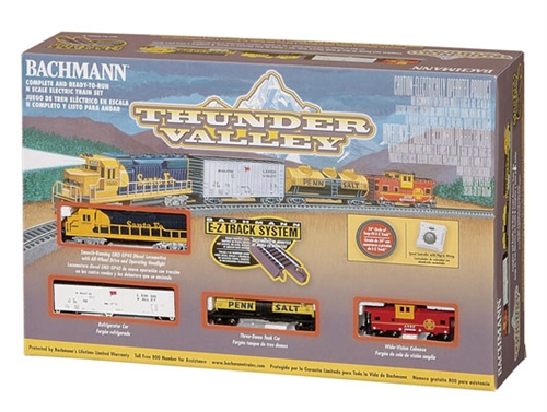 Bachmann N 24013 Thunder Valley Train Set-Santa Fe