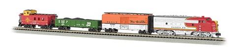 Bachmann N Scale, Super Chief Train Set