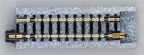 "Kato N 20-045 Unitrack Straight Track 62mm 2 7/16"" Conversion Track 2 pieces"