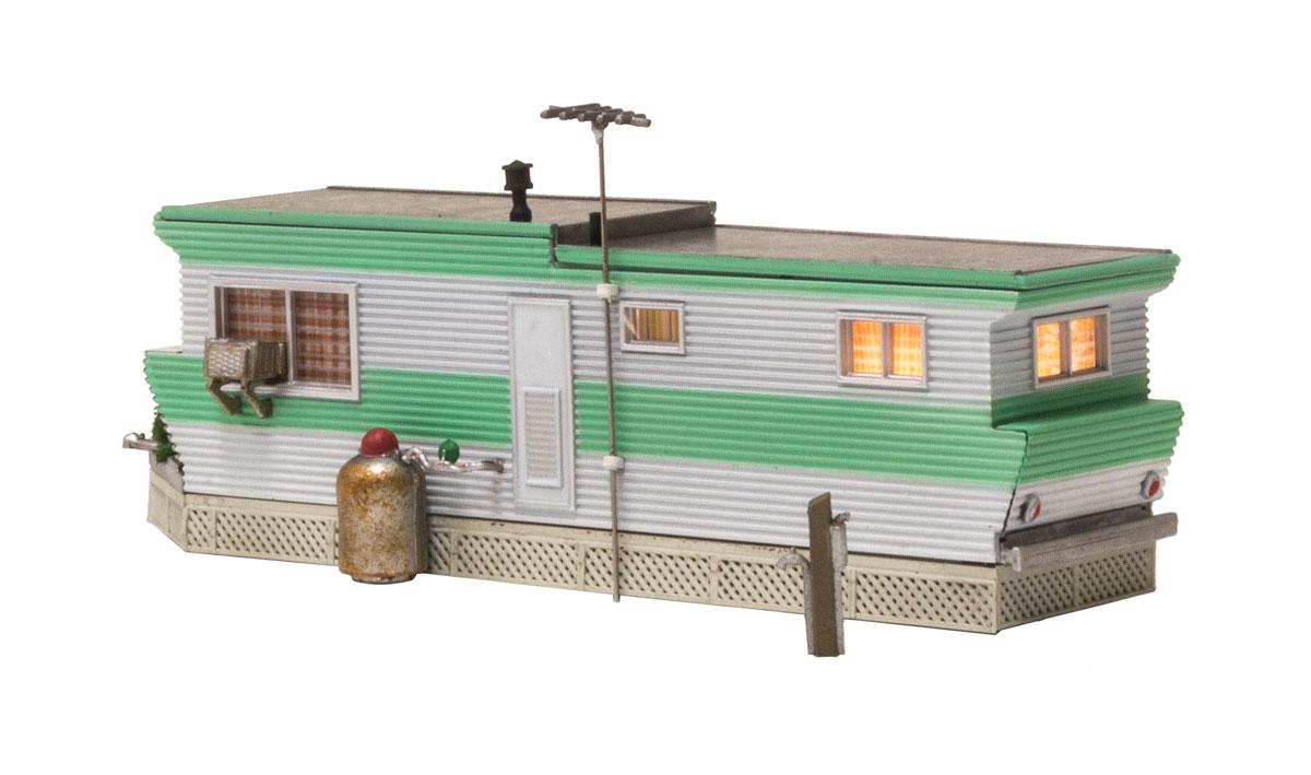 Woodland Scenics BR4950 N Built & Ready Grillin & Chillin Trailer