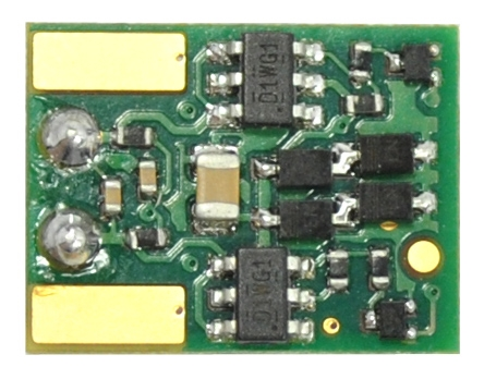 Train Control Systems TCS 1549 MT1500 2-Function board replacement DCC Decoder for Micro-Trains and Walthers SW Type Switchers