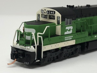 N Scale Charlie Hopkins Special EMD SD-9cn BN DCC Equipped #6246