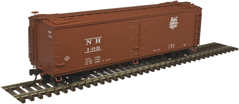 Atlas Master HO 20004747 40' Wood Reefer New Haven Ice Service NH #63