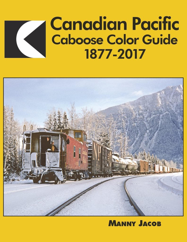 Morning Sun Books 1663, Canadian Caboose Color Guide 1877-2017