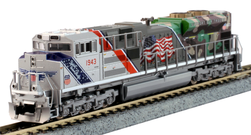 Kato N 1761943LS EMD SD70ACe Diesel Locomotive with DCC/ESU Lok Sound Union  Pacific