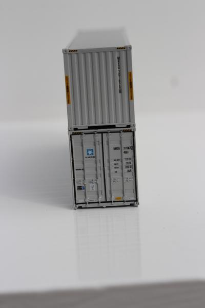Jacksonville Terminal Company N 405033 40' High Cube MAERSK 2-Pack