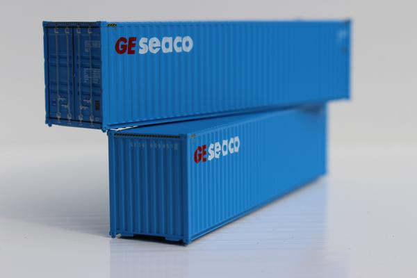 Jacksonville Terminal Company N 405040 40' High Cube GE SEACO 2-Pack