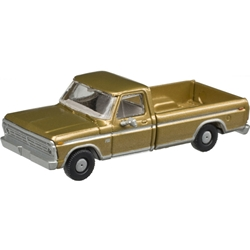 Atlas N 60000113 1973 Ford F-100 Pickup Truck Sequoia Brown 2 Pack