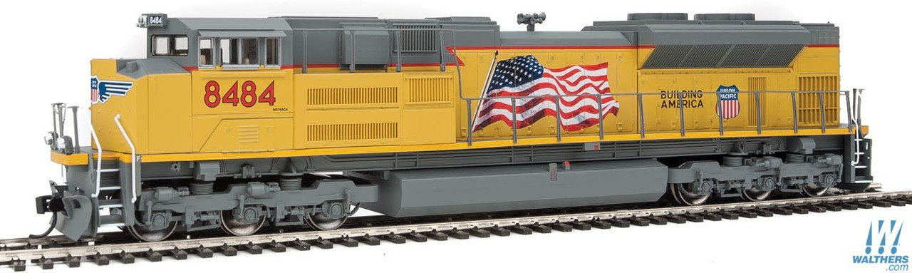 Walthers Mainline HO 910-9852 EMD SD70ACe Diesel Locomotive DCC Ready  Union Pacific UP #8484