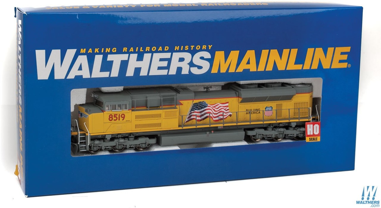 Walthers Mainline HO 910-9853 EMD SD70ACe Diesel Locomotive DCC Ready  Union Pacific UP #8519