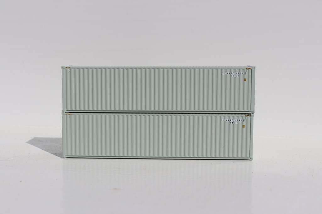 Jacksonville Terminal Company N 405044 40' High Cube Container SEALAND 2-Pack