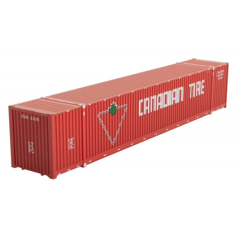 Micro Trains Line 46900152 53 ft Corrugated Side Container Canadian Tire CDAU #35658