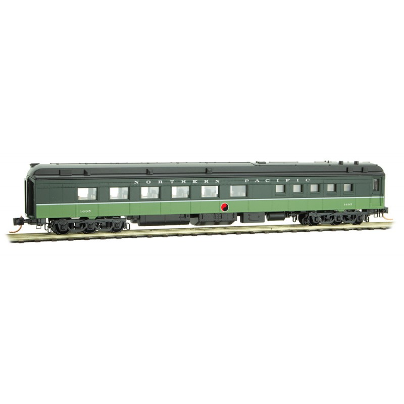 Micro Trains Line 146 00 320 80' Heavyweight Diner Car Northern Pacific NP # 1695