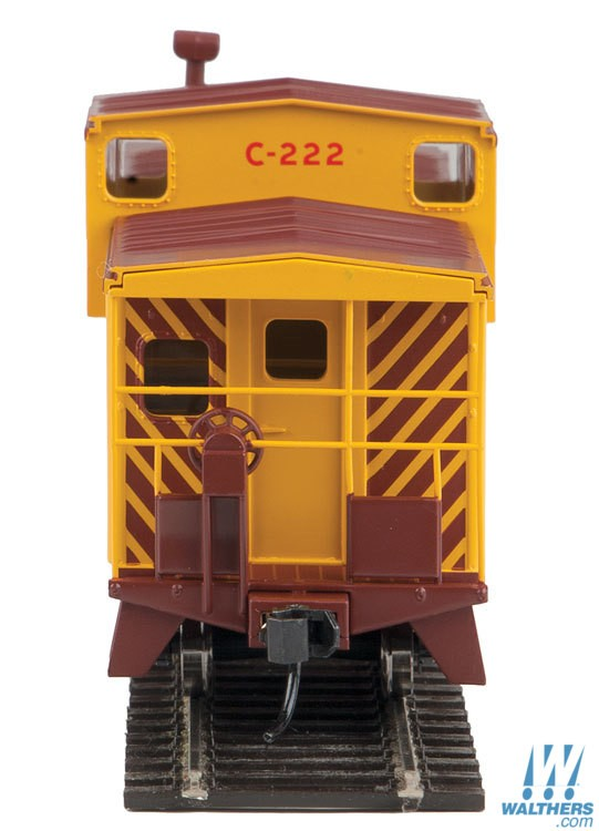 Walthers Mainline HO 910-8706 International Extended Wide Vision Caboose  Duluth Missabe & Iron Range DMIR #222