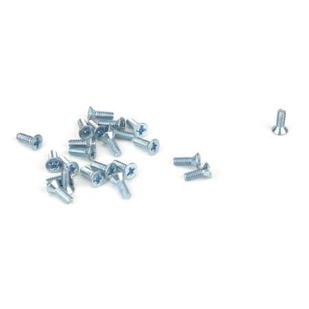 "Athearn HO ATH99007 Flat Head Screws 2-56 x 1/4"" Pack of 24"