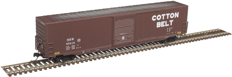 Atlas Master N 50004962 60' ACF Auto Parts Single Door Box Car Cotton Belt SSW #63428