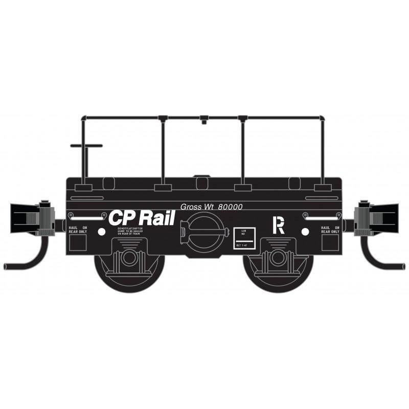 Micro Trains 121 00 140 Scale Test Car CP Rail #420939