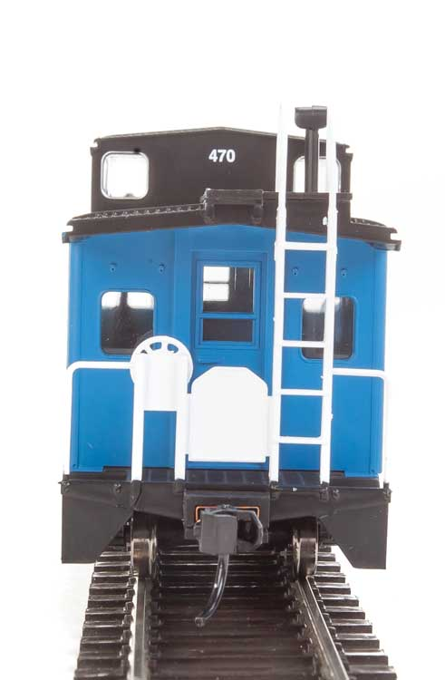 Walthers Mainline HO 910-8752 International Wide-Vision Caboose Boston and Maine B&M #470