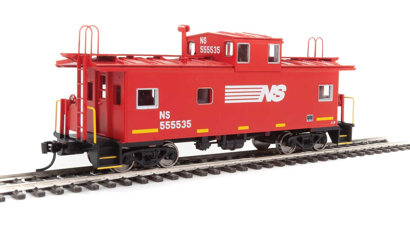 Walthers Mainline HO 910-8760 International Wide-Vision Caboose Norfolk Southern NS #555535