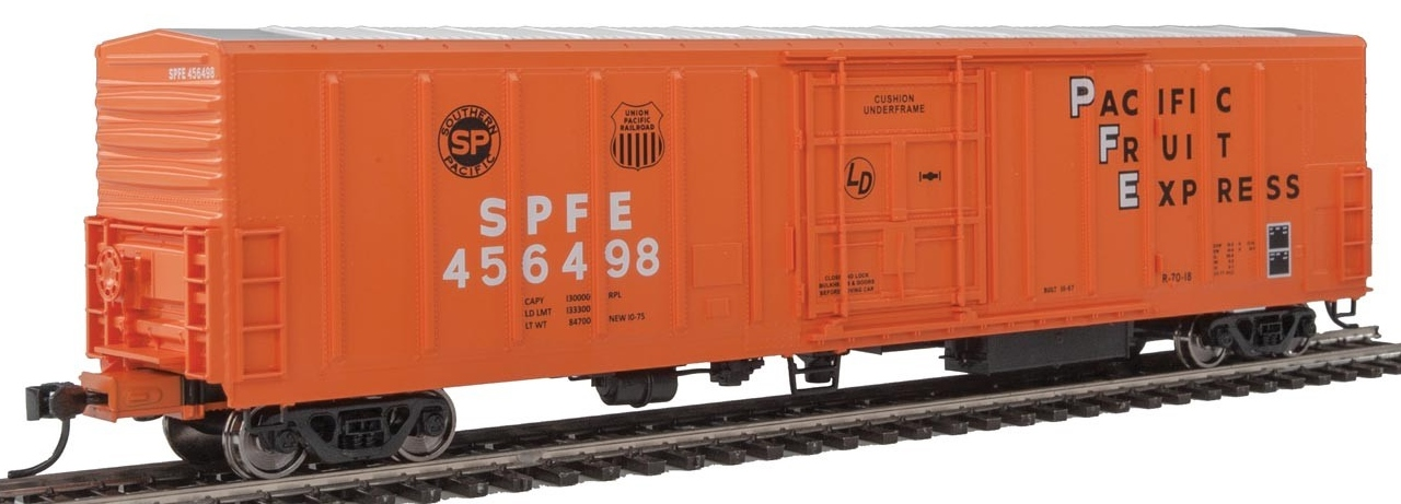 WalthersMainline HO 910-3942 57' Mechanical Reefer Southern Pacific Fruit Express SPFE #456498