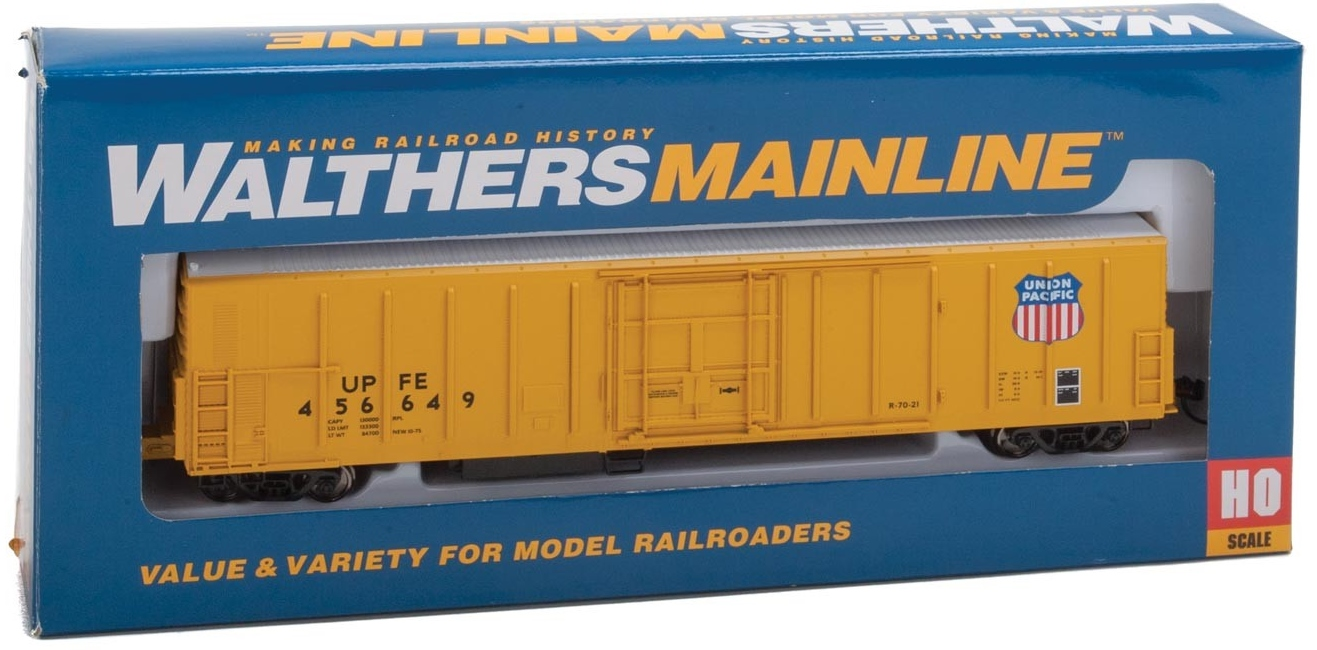 WalthersMainline HO 910-3944 57' Mechanical Reefer Union Pacific Fruit Express UPFE #456649
