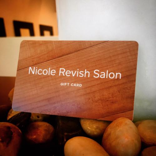 NICOLE REVISH SALON GIFT CARD