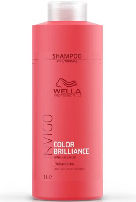 BRILLIANCE COLOR PROTECTION SHAMPOO LITER FOR FINE HAIR