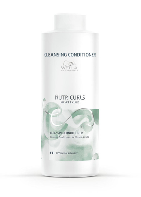NUTRICURLS CLEANSING CONDITIONER FOR CURLS & WAVES LITER