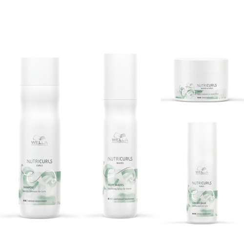 NUTRICURLS DEEP HYDRATION CURLY STYLING KIT