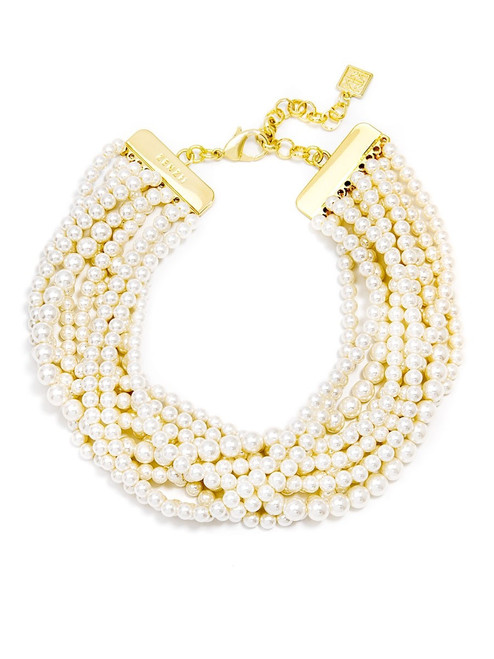 GIA PEARL COLLAR NECKLACE