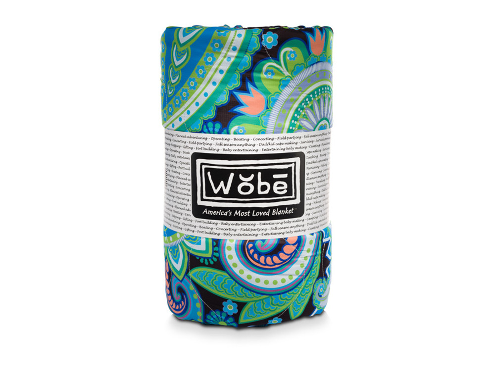 Woobie USA Décor - Paisley Blanket Throw