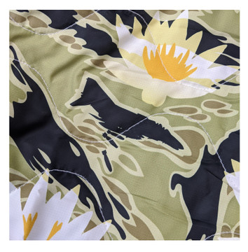 Woobie USA Tribe Throw Blanket - Aloha Now - Green - Bawidamann Art