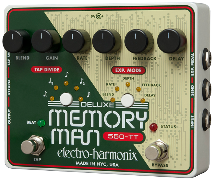Deluxe Memory Man 550-TT | Analog Delay