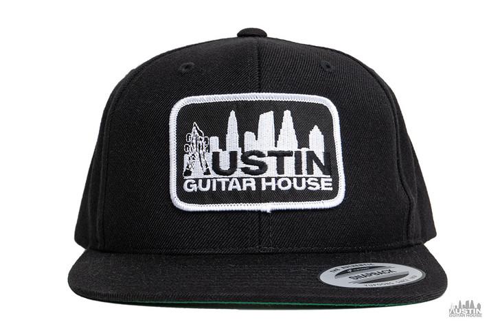 Austin Guitar House Flat Brimmed Patch Hat