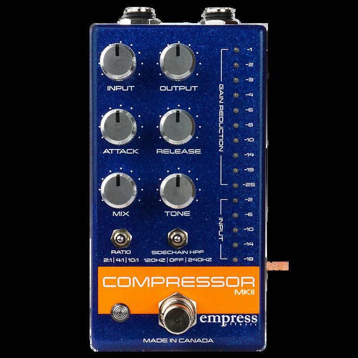 Empress Compressor MKII Blue