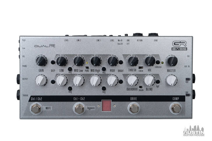 GR Bass Dual Pre Preamp and Headphone Amp