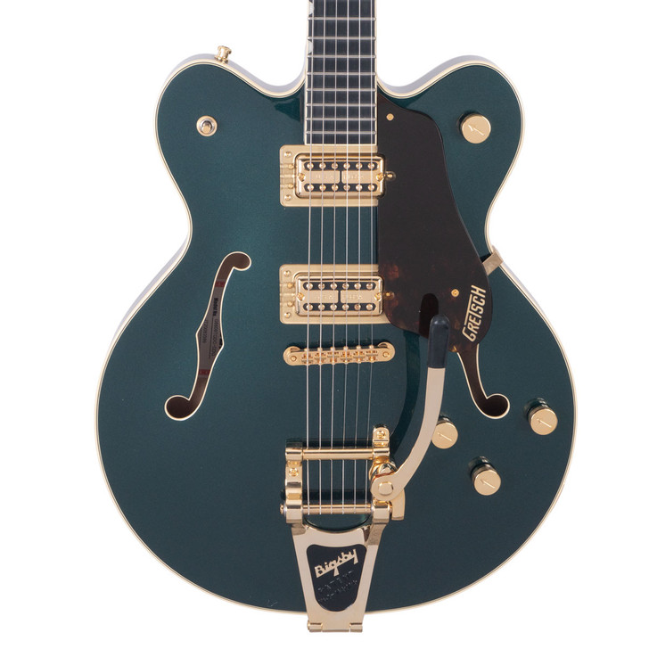 Gretsch Players Edition BroadKaster G6609TG  Double Cut Cadillac Green (used)