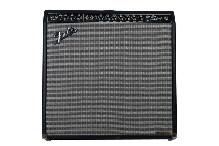 Fender 65 Super Reverb Reissue rebuilt by Alessandro (used)