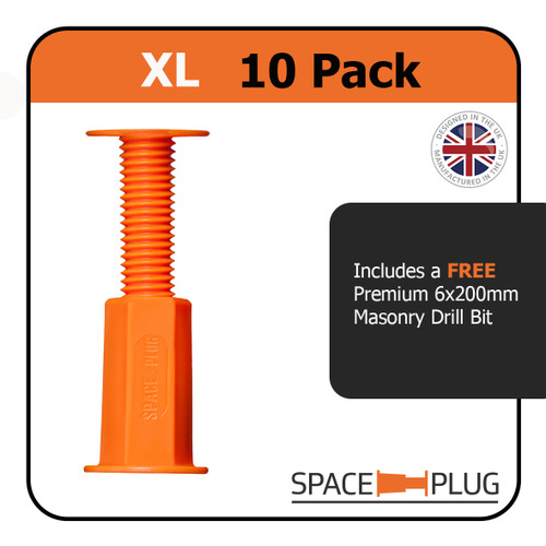 Space-Plug 10 XL For 45-80mm Gaps