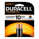 Duracell AAA Size Alkaline Battery - 1.5V - 2/Pack
