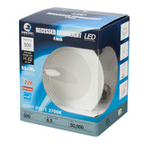 LED 4 inch Recessed Light - 8.5 Watt - Dimmable - 500 Lumens - Energetic Lighting