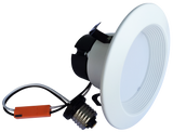 """4"""" Recessed Light  - 8W - 720 Lumens - Triac Dimmable - 2 Pack"""