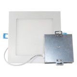 "6"" Square Slim Downlight - 12W - 900 Lumen - Euri Lighting"