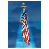 Flagpole Solar Light