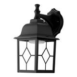 LED 11W Black Outdoor Wall Lantern
